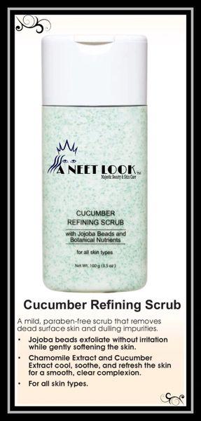 Cucumber Refining Scrub - Trial Size