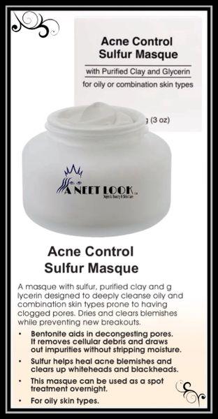 Acne Control Sulfer Masque - Trial Size