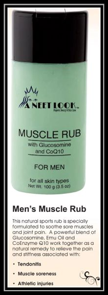 Men's Muscle Rub
