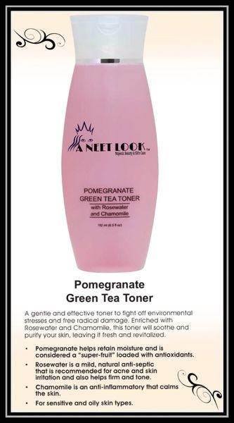 Pomegranate Green Tea Toner