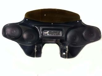 Road King Fairing with Bluetooth Stereo, 5 25