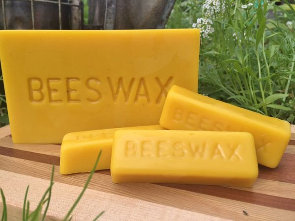 Pure Beeswax Blocks, 1 lb.