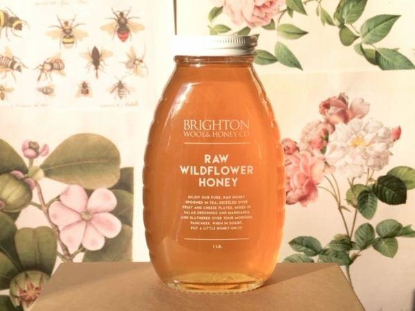 Raw Wildflower Honey, 1 lb.