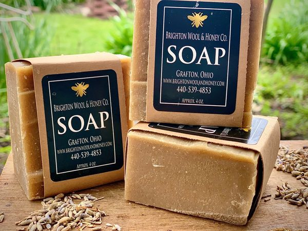 All Natural Lavender & Chamomile Bar Soap