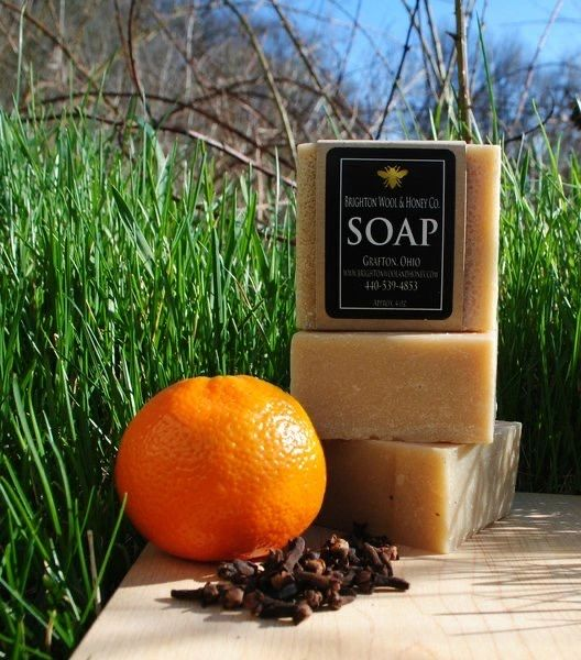 All Natural Orange Clove Bar Soap