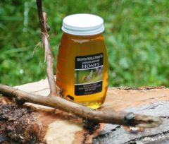 Raw Lavender Infused Honey, 8 oz.