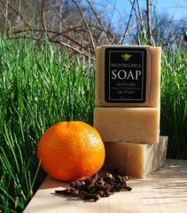 All Natural Orange Clove Bar Soap