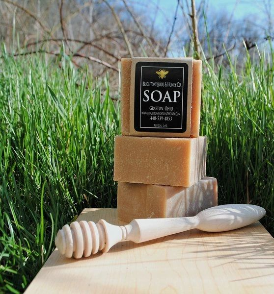 All Natural Goat's Milk and Honey Bar Soap