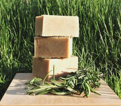 All Natural Rosemary Peppermint and Sage Bar Soap