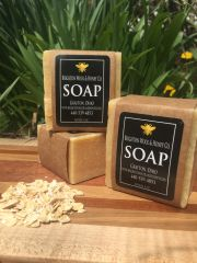 All Natural Oatmeal Lemongrass Bar Soap