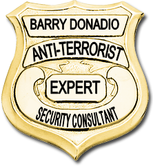 Barry Donadio, Anti-Terrorist Security Consultant