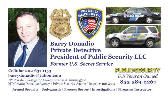Barry Donadio, President of Public Security LLC