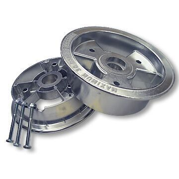 "6"" x 3"" ALUMINUM TRI STAR WHEEL"