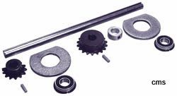 "JACK SHAFT KIT 5/8"" 10"" SHAFT"