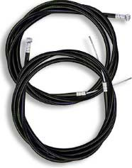 THROTTLE CABLE 54""
