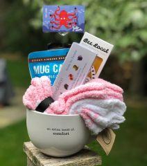 """Gift Basket Mug"" {an extra boost of...comfort or nourishment}"