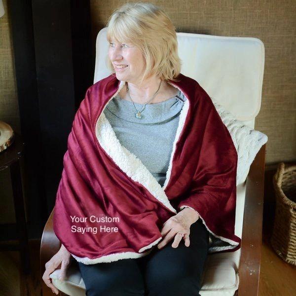 Warm Embrace Cozy Wrap {Customize Saying}