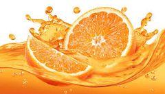 Orange Spash