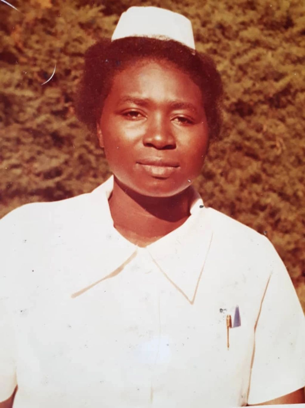 A ugandan nurse in 1980s