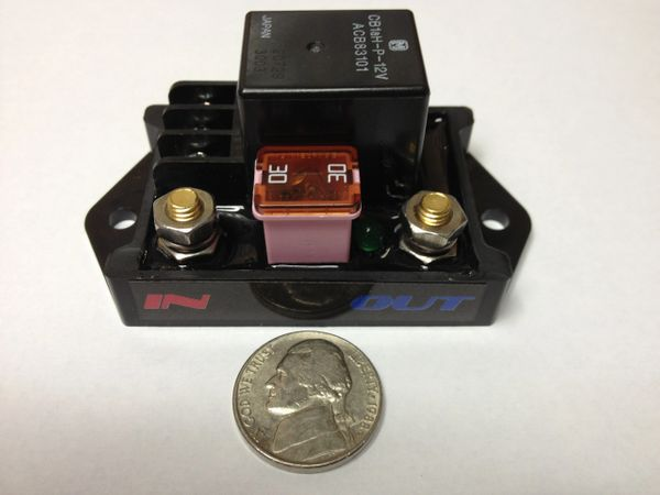 Single 70amp relay module