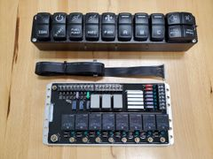 Street/Strip Switch Panel and Relay Module Combo