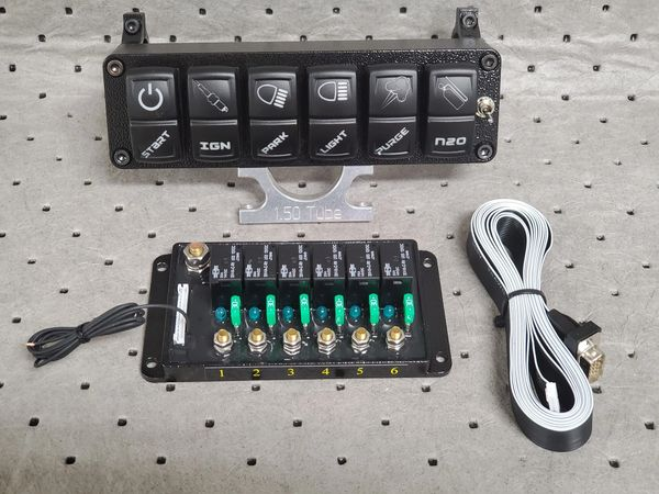 6 Rocker Switch Panel/ Pro6 Relay Combo