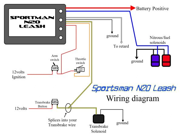 Sportsman N2O Leash Progressive Controller | Leash Electronics | N20 Wiring Diagram |  | Leash Electronics