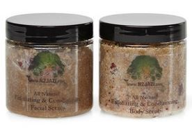 Coconut Rose Sea Salt Body Scrub