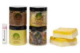 7pc Natural Spa Gift Set