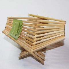Za: Chopstick Art Soap Dish - unstained