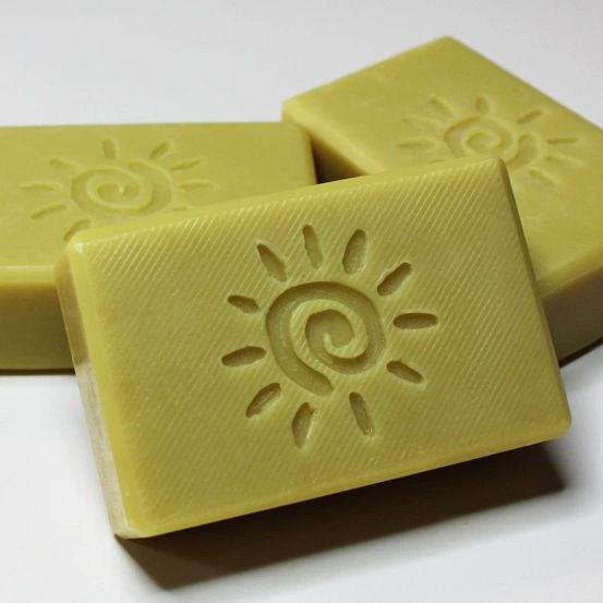 (N3) The Sun Soap - lemony scent created with essential oils - Out of stock