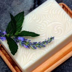 (M1) Lavender Mint Scented Soap