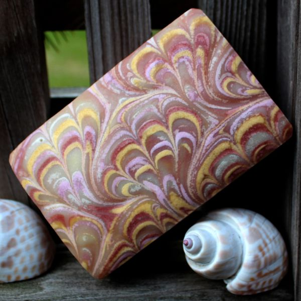 (K) Grapefruit Patchouli scented soap