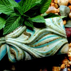 (N1) Ocean Mint Soap - Peppermint and Spearmint Scent - Back in stock Aug 31