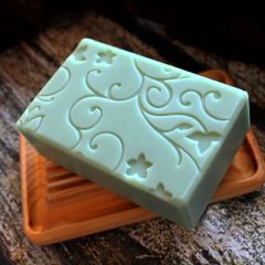 (N6) Spearmint scented soap
