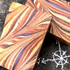(N5) The Tangerman - a lavender and tangerine scented soap - Back in stock Nov 9