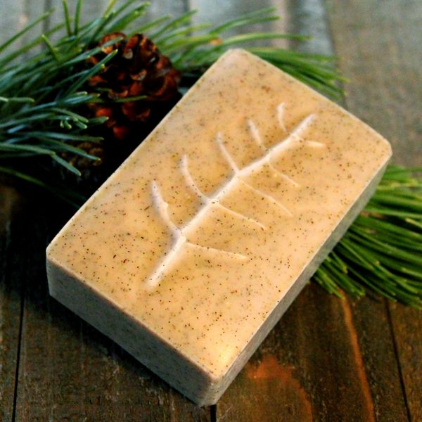 (C) Dark Forest Soap ~ Scented with Fir Needle, Spruce, Balsam & Vetiver Essential Oils - Out of Stock