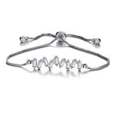 Baguette Adjustable Bracelet