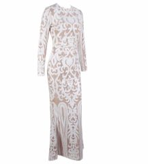 Fitted Maxi Gown