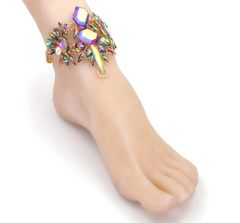 1pc Crystal Anklet