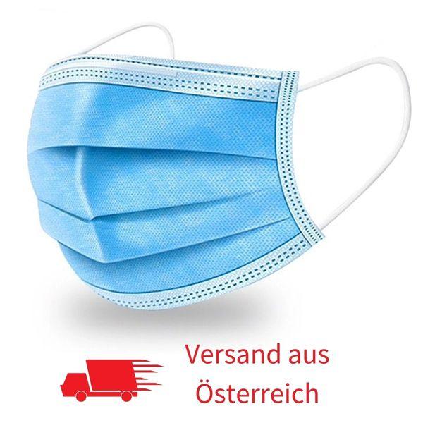 Mundschutz 3-Lagig (1-Wochenvorrat 7 Stk.)