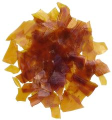 Dewaxed Orange Shellac Flakes. 16 Oz, 8 Oz, 4 Oz, 2 Oz & 20 Lb Whole Sale