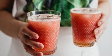 non-alcoholic cocktail and conscious drinking