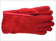 Rusty Red Classic Sheepskin Shearling Gloves