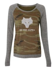 Be The Alpha Eco-Jersey Pullover