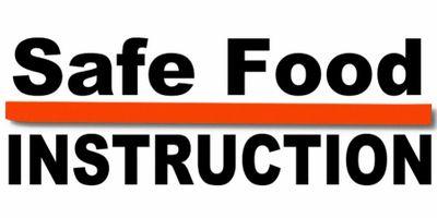 Safe Food Instruction