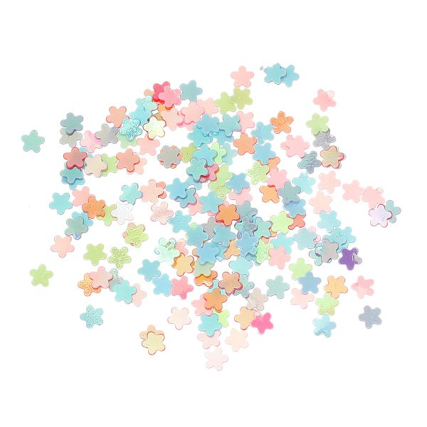 10g Tiny Flower Confetti, sequin, Embellishment, Ideal for Card Making 3mm