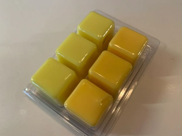 The Bead and Button Box - Wax Melt Duo. 45g Lemon Sherbet & 45g Fruit Salad. Highly Scented Soy Wax