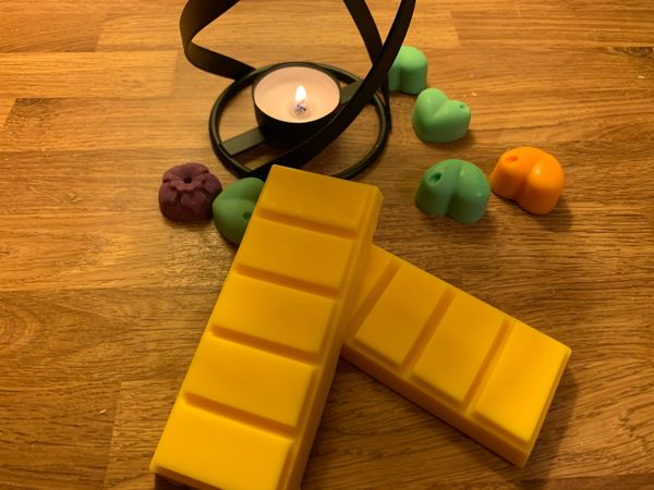 The Bead and Button Box - Sunrise Melts 60g Snap Bar of Highly Scented Wax Melts. Sherbet Lemons