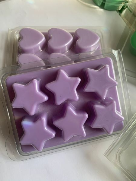 The Bead and Button Box - Sunrise Wax Melts. Luxury Home Fragrance Star Shaped Clamshell Soy Wax Melt. Perfume Inspired Scents